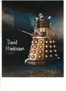 "David Hankinson ""Dalek"" signed 10 x 8 Photograph #1"